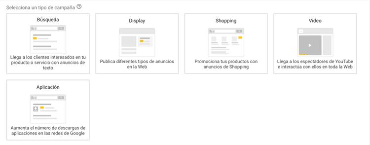 Tipo-de-campañas-de-anuncios-en-Google-Adwords